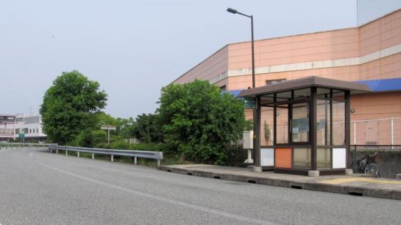 美作IC高速バス乗り場