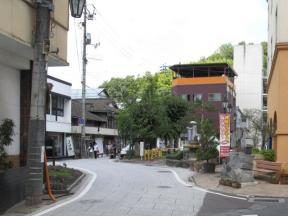 湯郷温泉街2