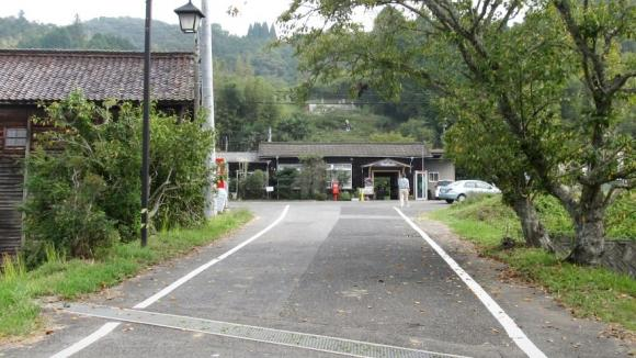 JR姫新線 美作土居駅