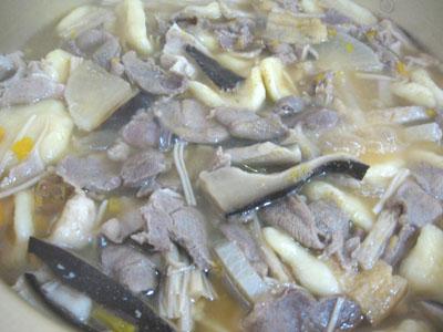 イノシシ鍋
