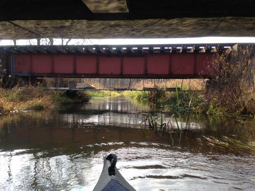 千歳線の鉄橋