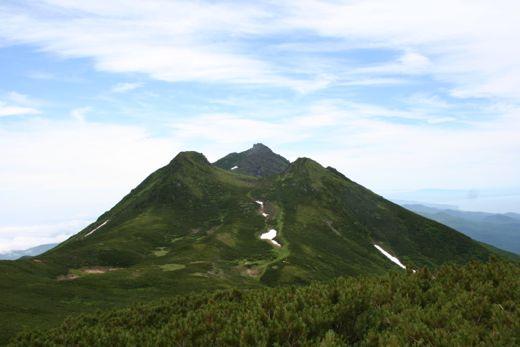 サシルイから見る羅臼岳