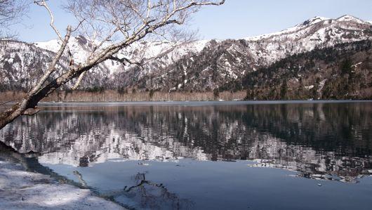 オコタンペ湖畔