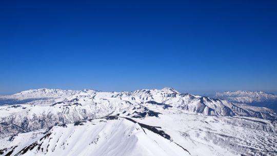 トムラウシと表大雪