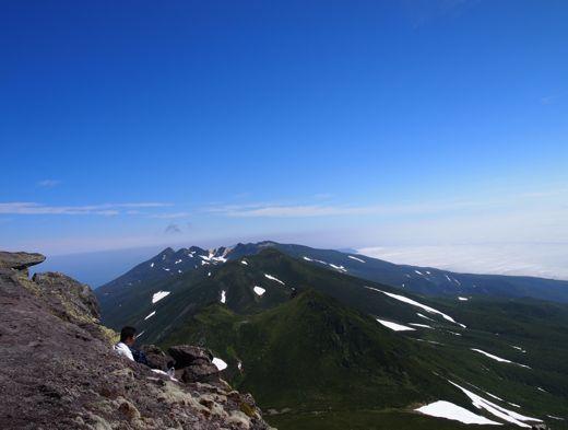 羅臼岳頂上