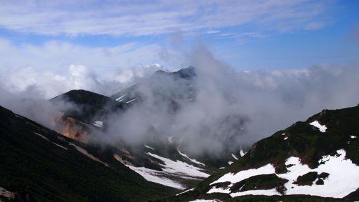 羅臼岳方向