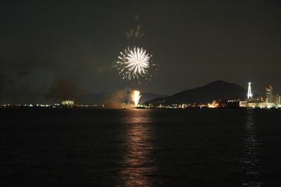 20130714マリーナの花火1