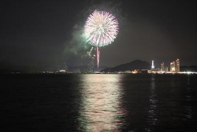 20130714マリーナの花火2