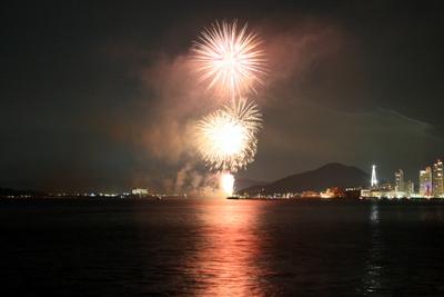 20130714マリーナの花火6