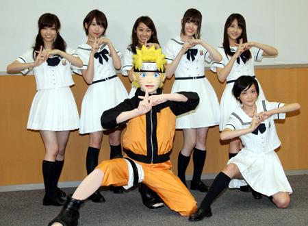 「NARUTO」10月からのオープニング主題歌に乃木坂46の新曲が起用! マギは担当しないみたいだね