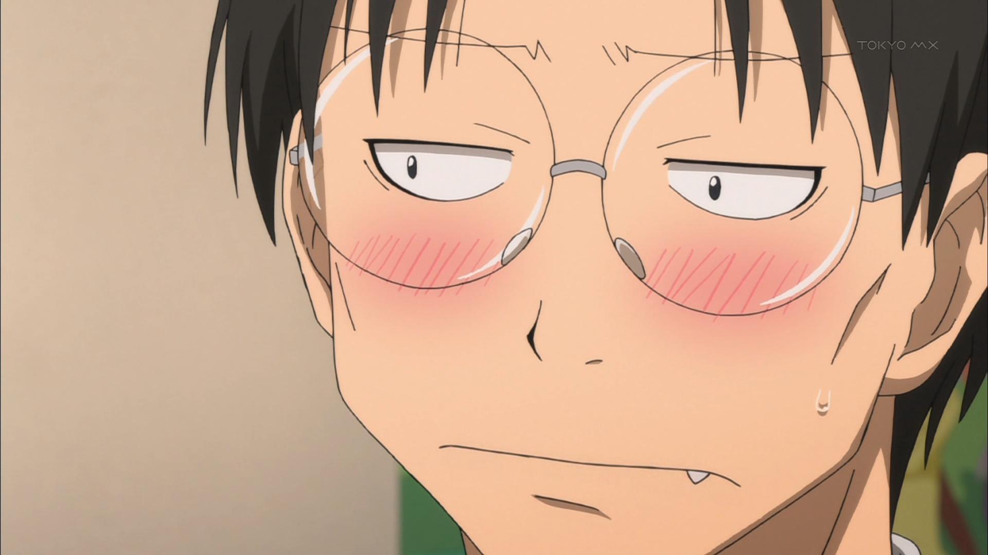 『げんしけん 二代目』第8話・・・完全にホモォ・・・回ww ずっと濃い目のオタトークだったな
