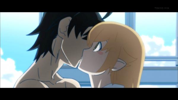 『物語シリーズ セカンドシーズン 鬼物語』第17話・・・あららぎさんまじ変態ロリコンすぎる、アニメで高校生と幼女のキスが見れるとは・・・