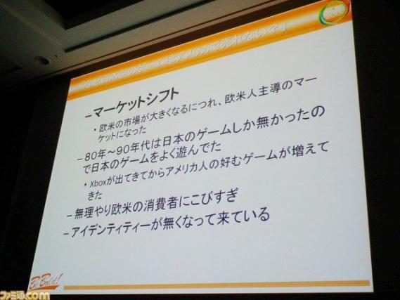 米国人ゲーム開発者100人アンケート『海外市場で日本製のゲームが苦戦してる理由は?』