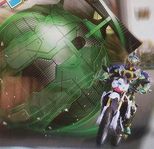 『仮面ライダー鎧武』パワーアップパーツのスイカアームズワロタwww