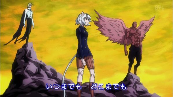 アニメ『ハンター×ハンター』10月から毎週火曜深夜25:29からに時間変更!