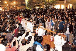 【花咲くいろは】石川のぼんぼり祭りに1万人が来場 昨年を3千人上回る