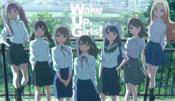 アイドルアニメ『Wake Up Girls!』新版権絵きたあああ!! 友達同士で結成したアイドルグループではない