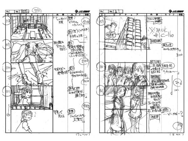 ヤフオクに『物語シリーズ、超電磁砲S、きんモザ、ロウきゅーぶ、ネプテューヌ』などのアニメの絵コンテや設定資料が大量出品されてるぞ!