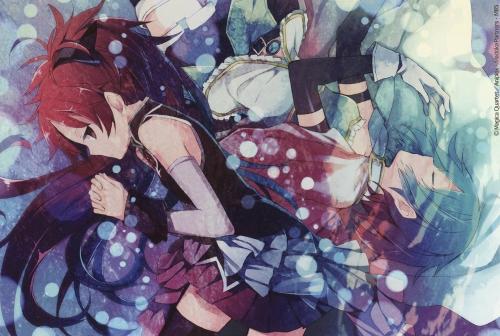 『まどか☆マギカ』喜多村英梨「映画は杏さやでイチャつけて嬉しかった」 野中藍「でもやっぱり恥ずかしい・・・」