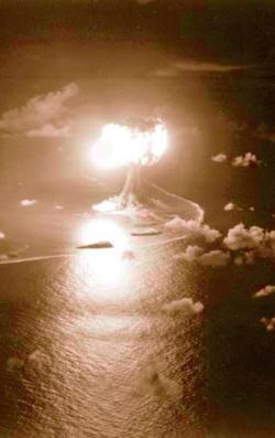 核実験サンドストーン