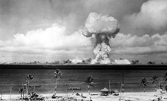 核実験ビキニ エイブル