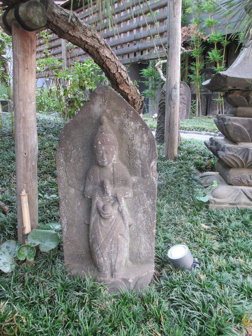 道住寺 石仏3