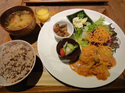 20141114umie natuanatura 豆腐ハンバーグ