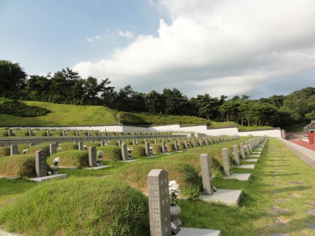 2013年8月16日 光州墓地2