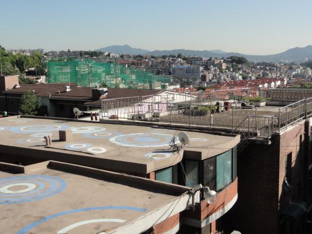 2013年9月16日 南山からの眺め 屋上1