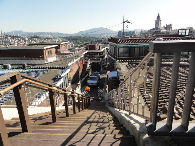 2013年9月16日 南山からの眺め 階段2
