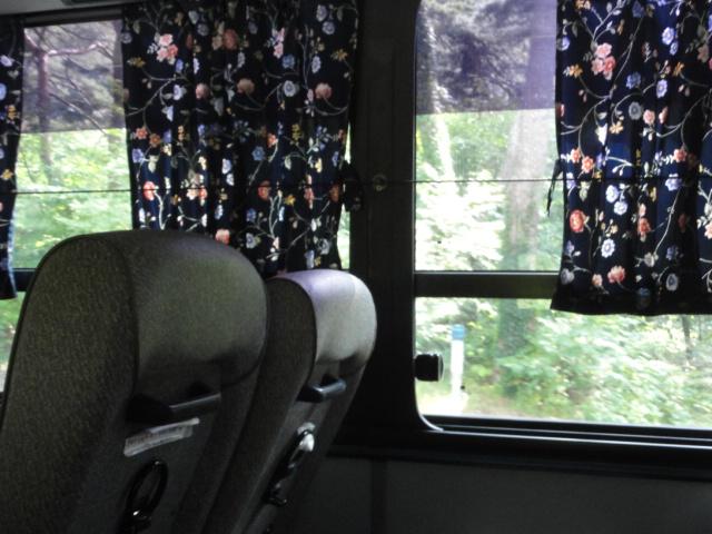 2013年9月23日 海印寺から高霊へ バスの車内