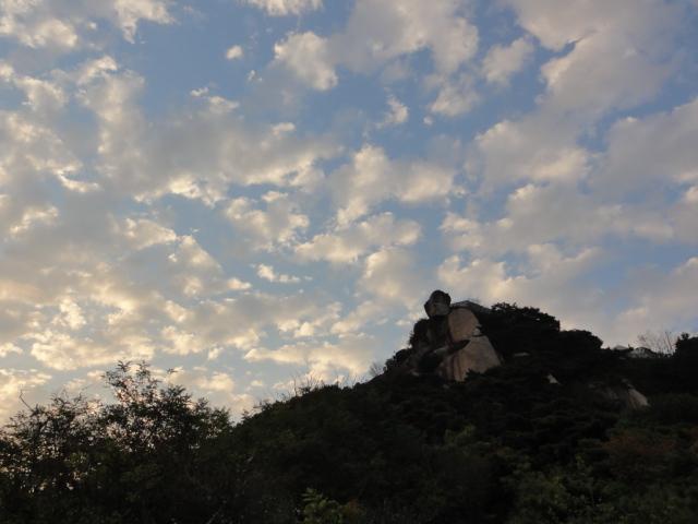 2013年10月20日 頂上と青空