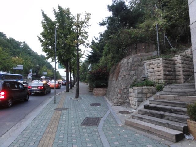 2013年10月20日 独立門 山への入口