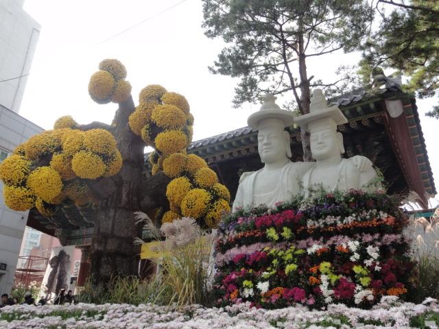 2013年10月27日 チョゲサ菊祭 門2