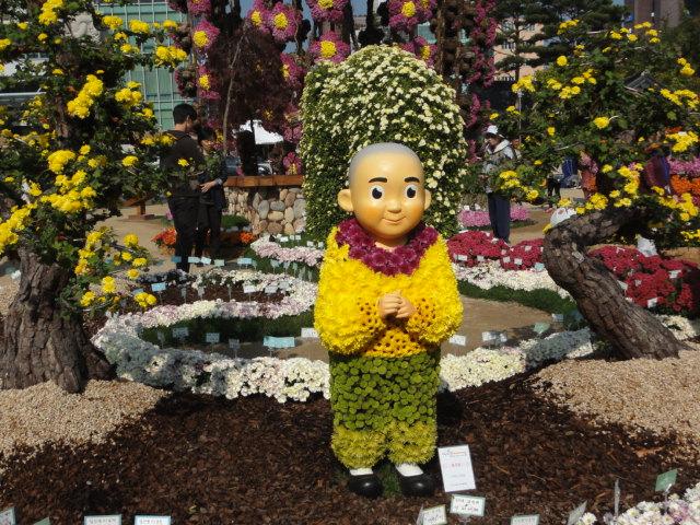 2013年10月27日 チョゲサ菊祭 お坊さん