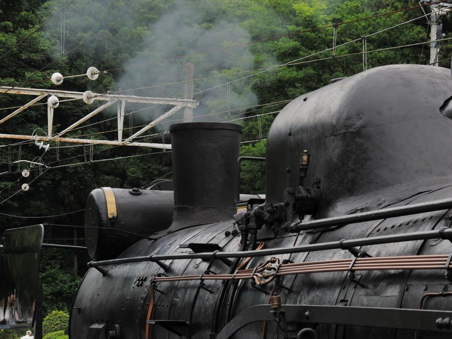 秩父鉄道SL蒸気上部03