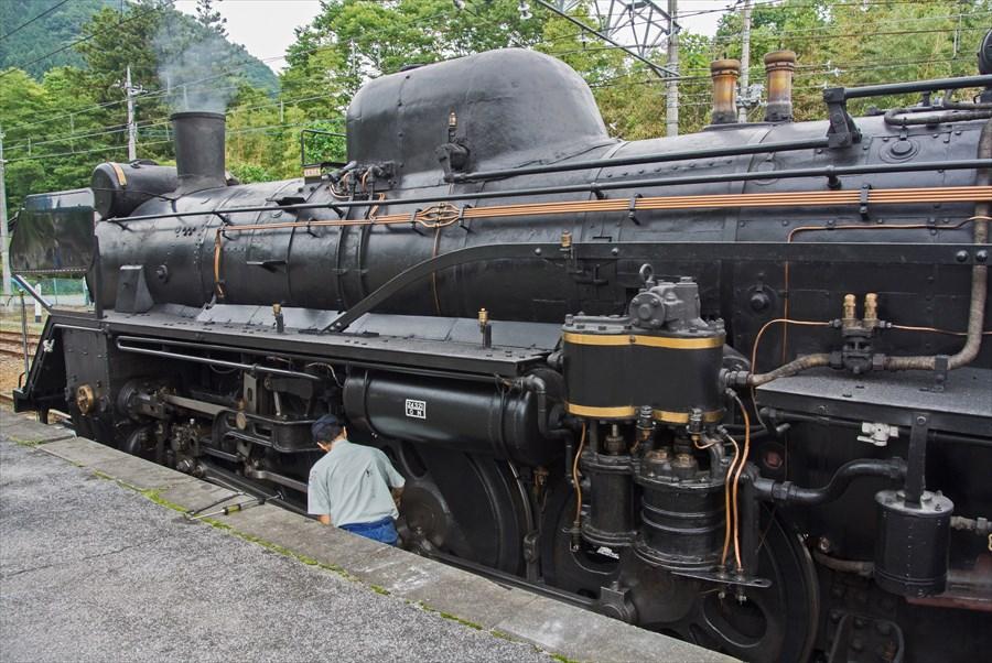 秩父鉄道SL終点での整備全体像01