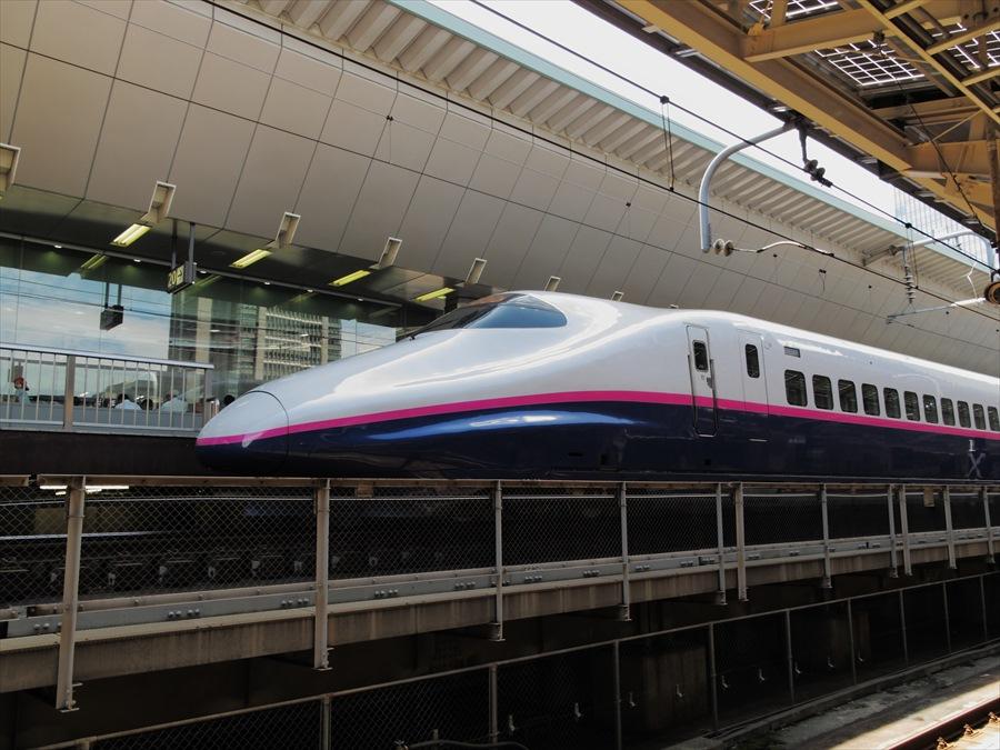 東北新幹線東京駅E2系02