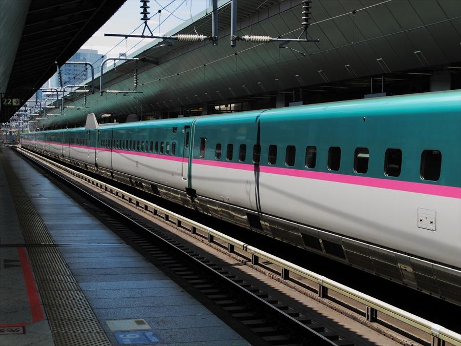 東北新幹線東京駅E5系全景04