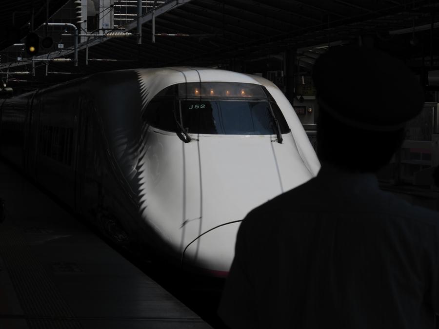 東北新幹線東京駅風景01