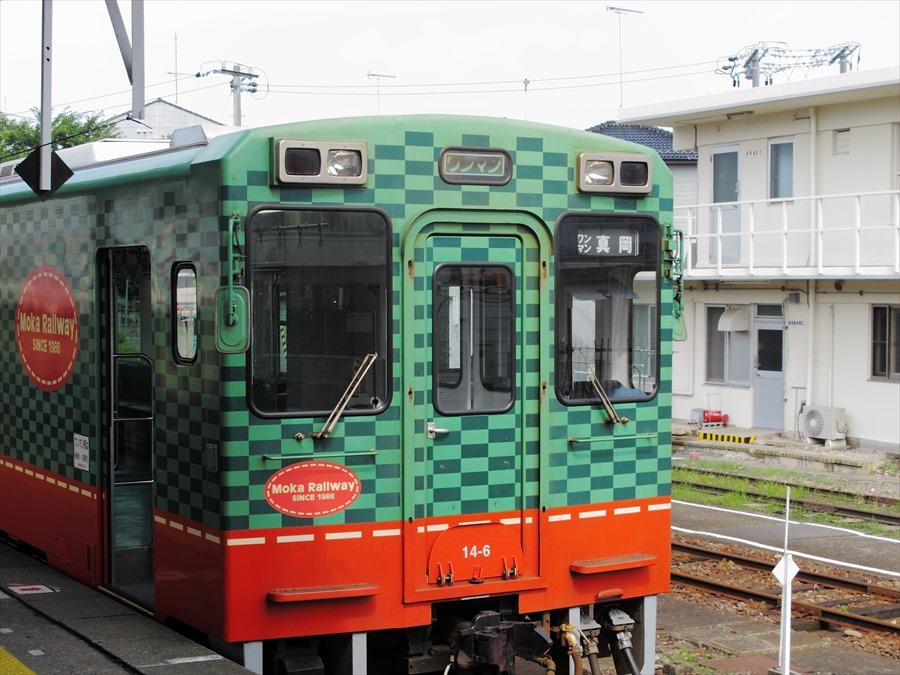 水戸線下館駅風景真岡鐵道正面04