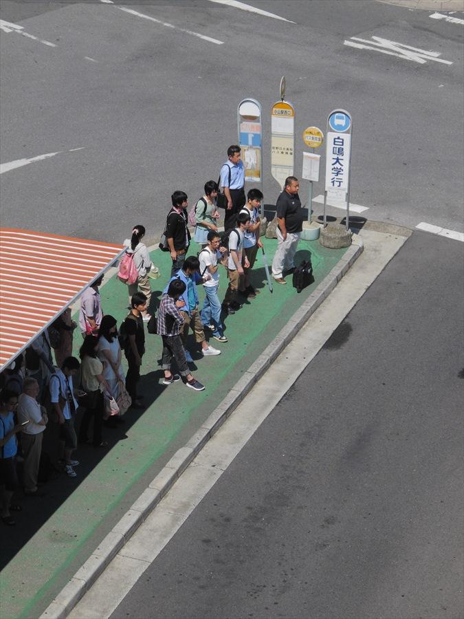 新幹線小山ホームからの眺めバス待ち02