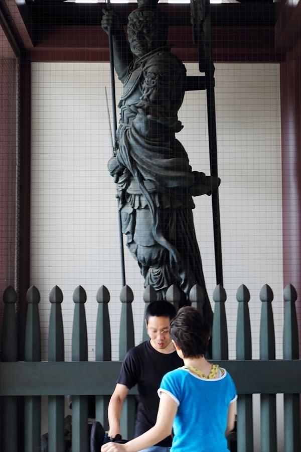 川崎大師風鈴エピローグ02山門脇風神像02