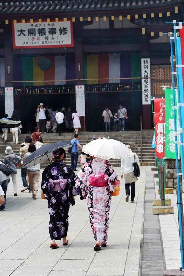 川崎大師風鈴エピローグ02和装女性参拝客06