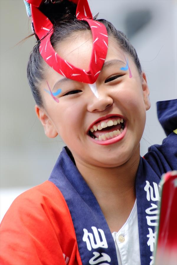 仙台東口雀踊り笑顔03