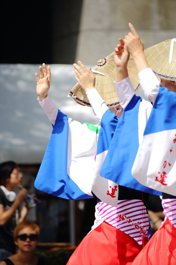 仙台雀踊り阿波踊りロード流し仙台連横から04