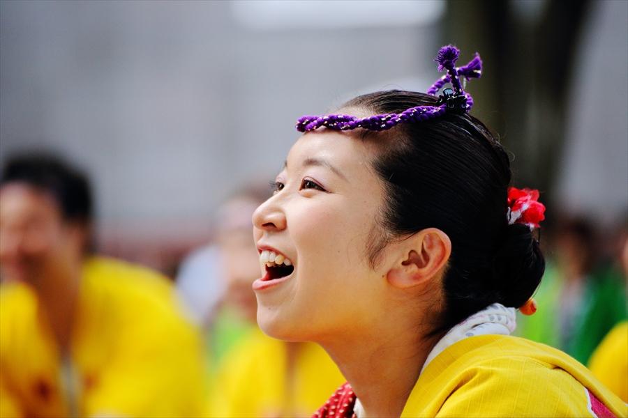 仙台東口雀踊り笑顔06