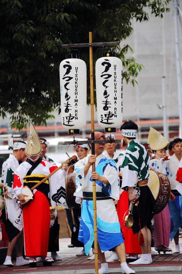 仙台雀踊り阿波踊り舞台スタート前01