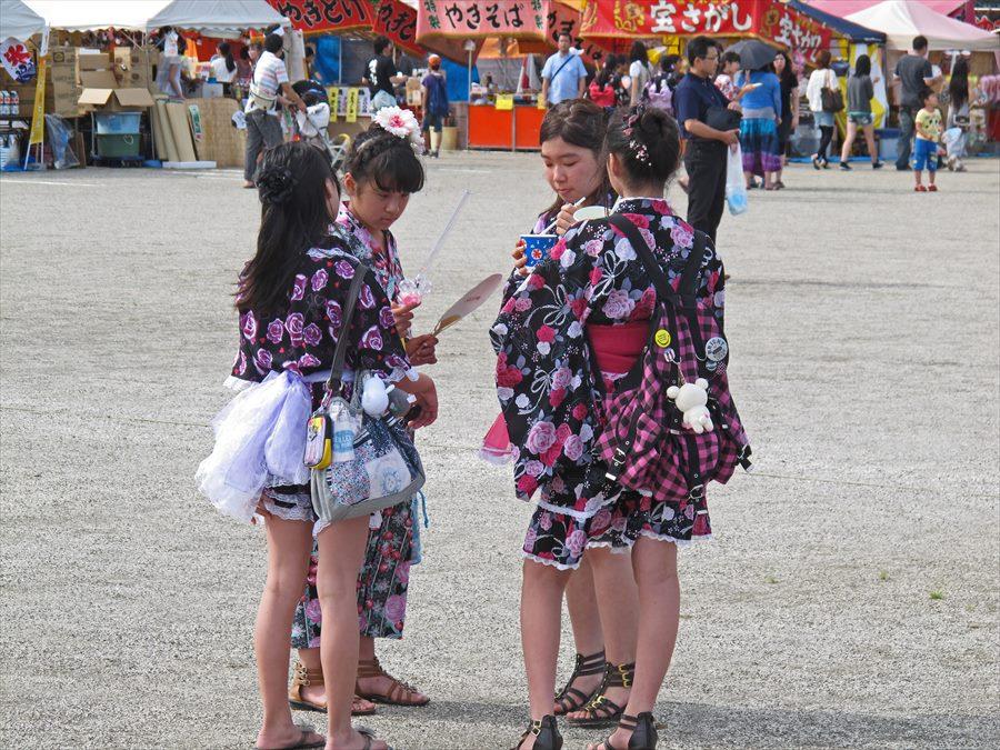 名取祭り面白い浴衣風02