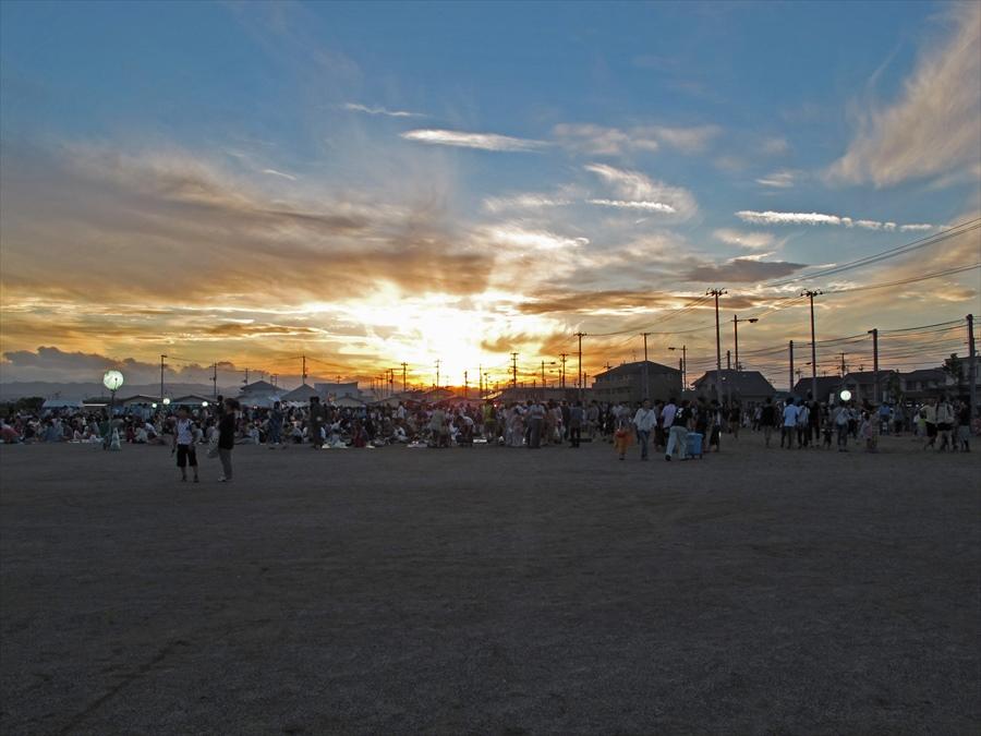 名取祭り空景夕景05